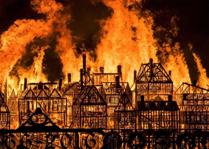 Англичане верят, что холст провоцирует массовые пожары, которые уничтожают все на своем пути
