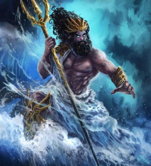 Посейдон - создатель и властитель таинственного архипелага, затерянного в водах Атлантического океана