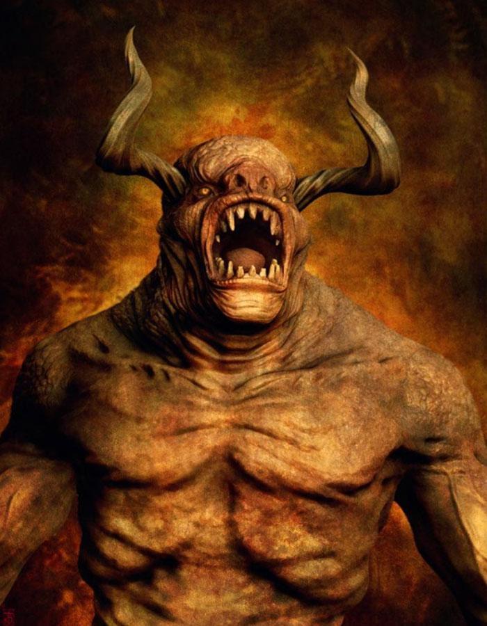 Сущность приспешника Сатаны
