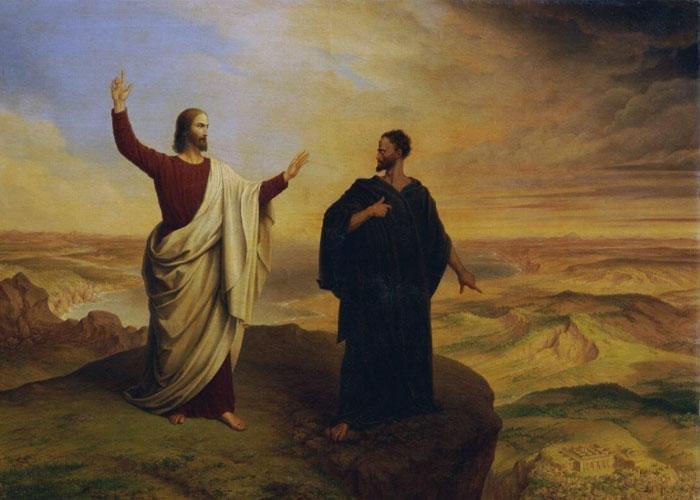Искушение Иисуса Христа в пустыне