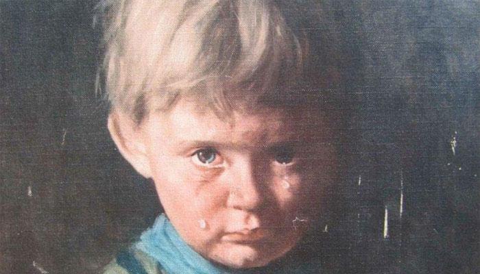 Взгляд малыша пробирает до самой глубины и оставляет довольно противоречивые чувства