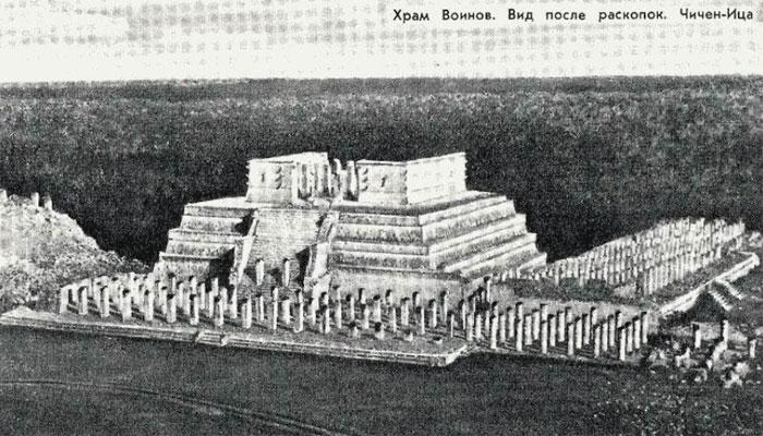 Архивное фото с места раскопок