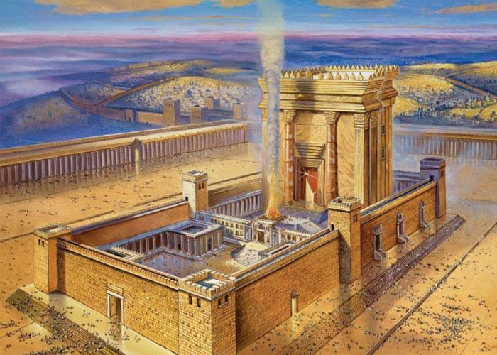Храмовый комплекс быстро превратился в главную достопримечательность Израиля и всего христианского мира