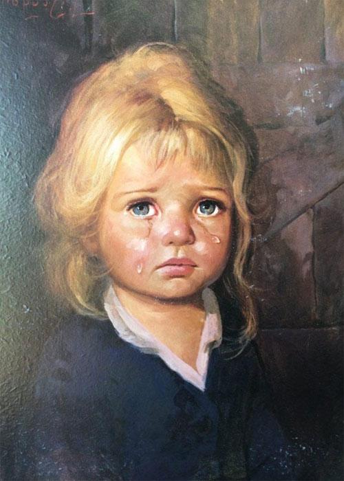 Один из портретов итальянского художника