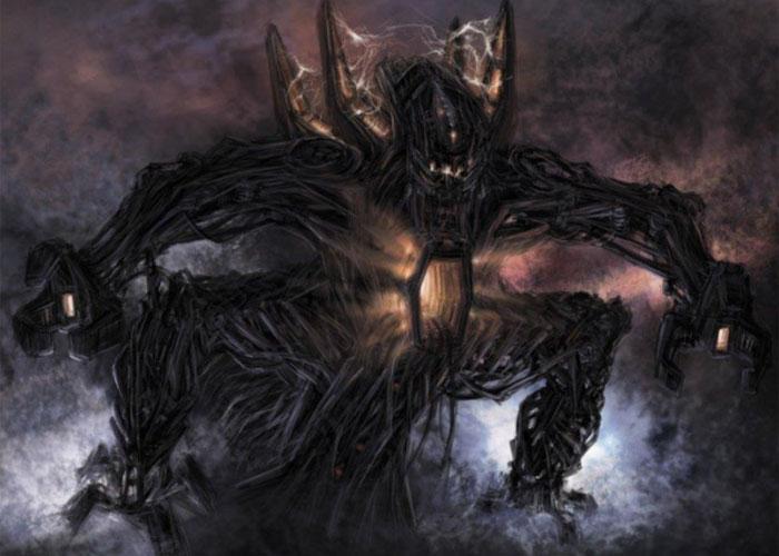 Один из обликов могущественного демона