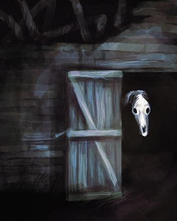 Монстр scp Long Horse абсолютно безопасен для людей | картинки на mifistoria.info