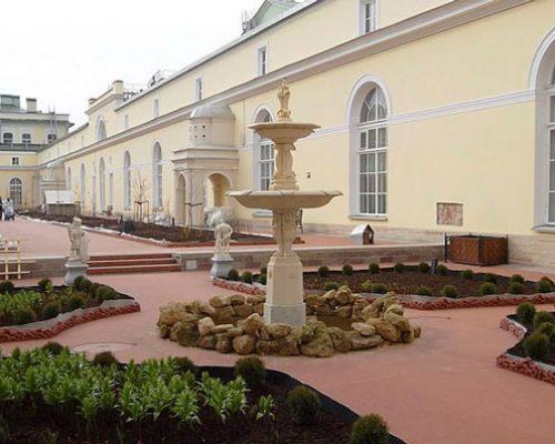 Сад малого Эрмитажа, Санкт-Петербург.